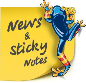 News And Sticky Notes