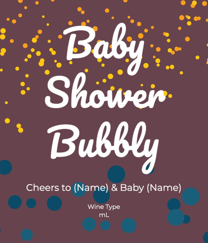 Baby Shower Bubbly
