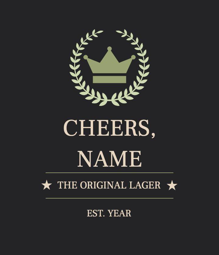 Classic Beer Label
