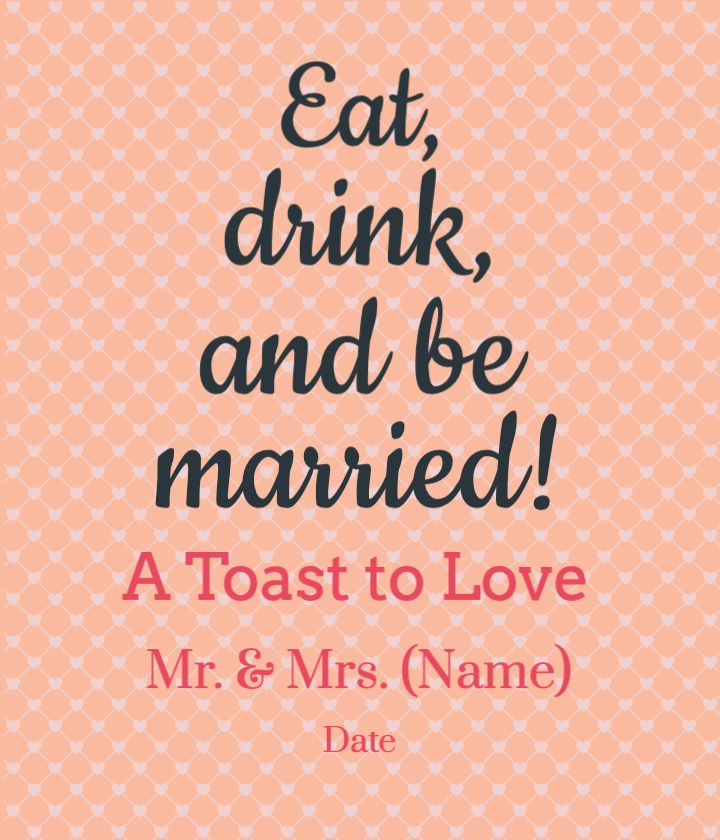 Toast to Love