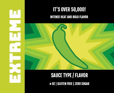 EXTREME Green Hot Sauce