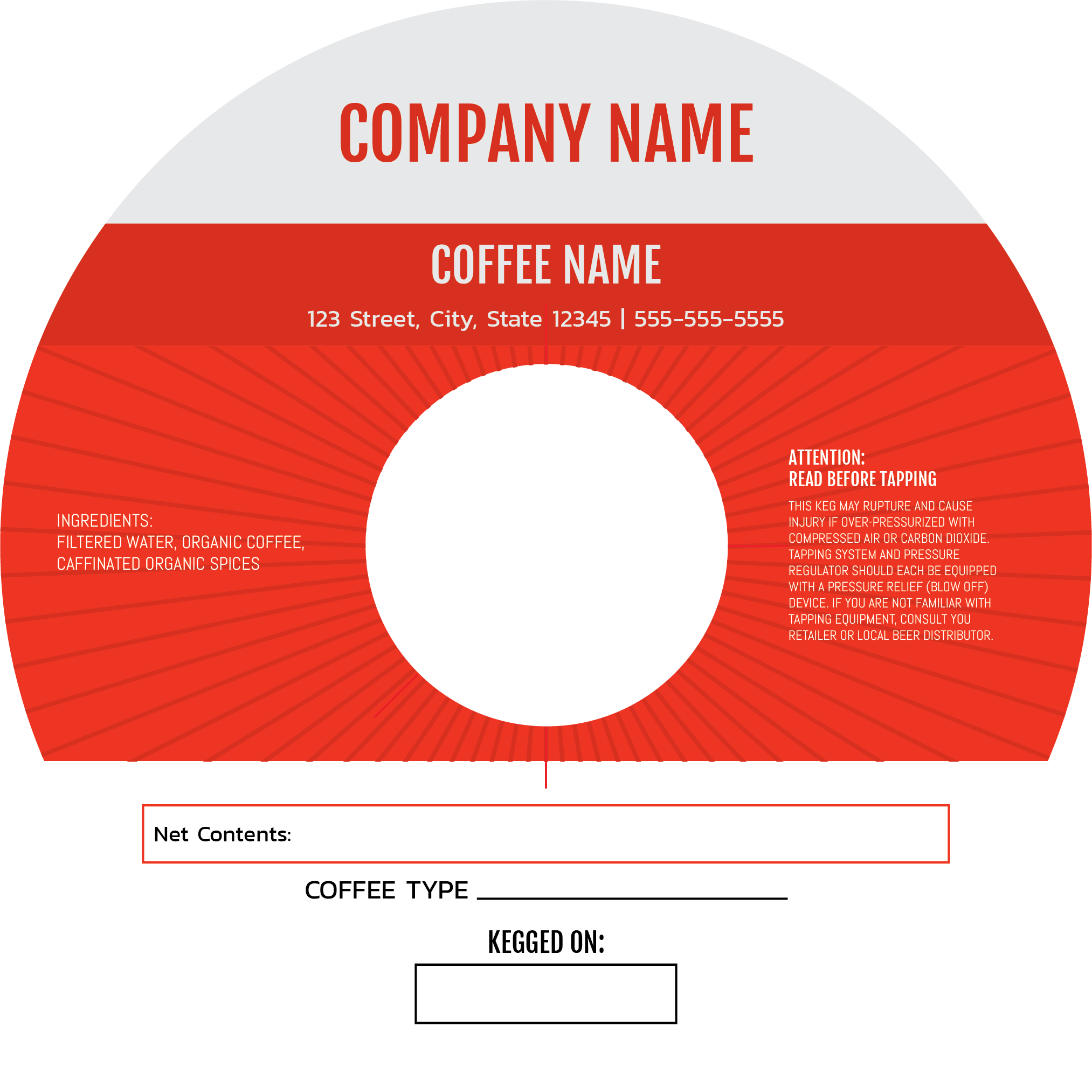 "7"" Red Coffee"