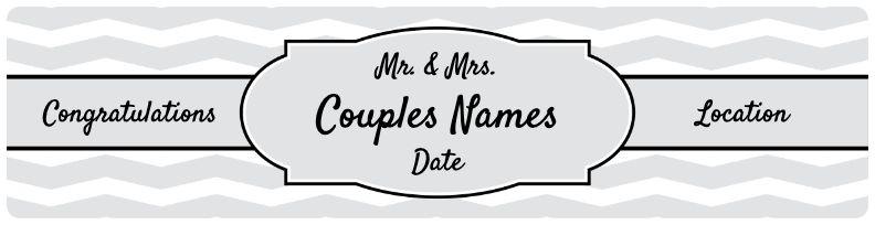 Wedding Banner - Grey