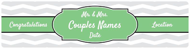 Wedding Banner - Green