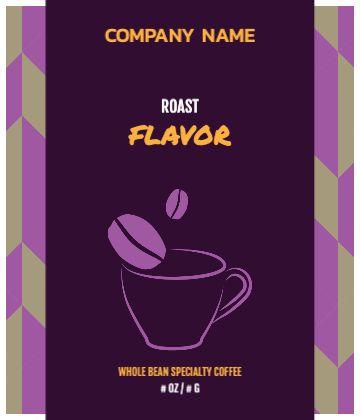 Purple Coffee Cup