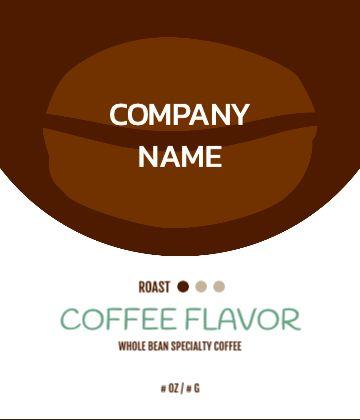 Large Coffee Bean