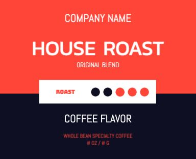 House Roast - Red - Pouch