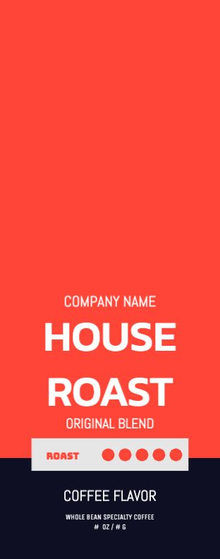 House Roast - Red - Wrap