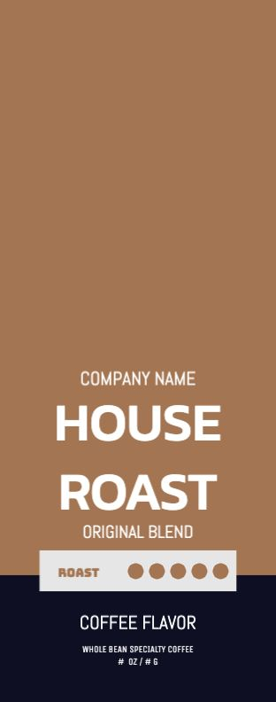 House Roast - Brown - Wrap