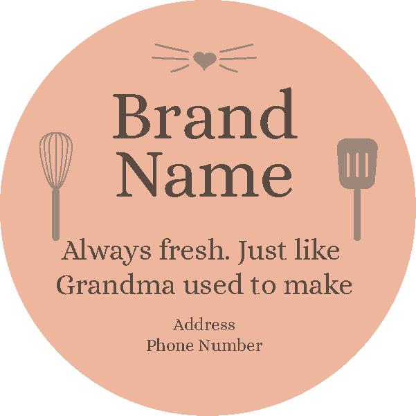 Grandmas Recipe (Circle)