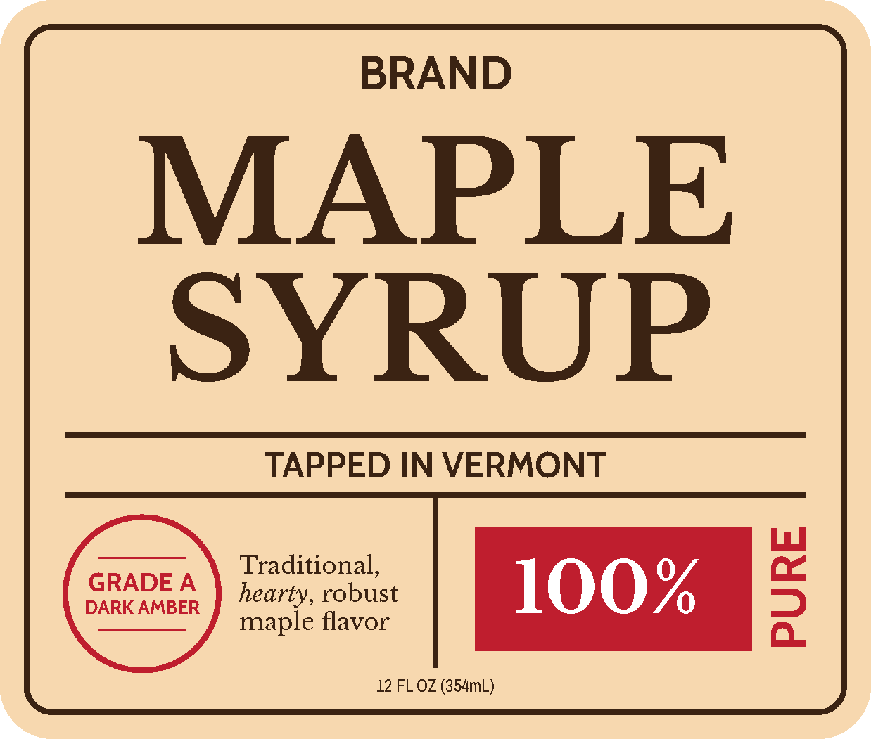 Syrup Tradition
