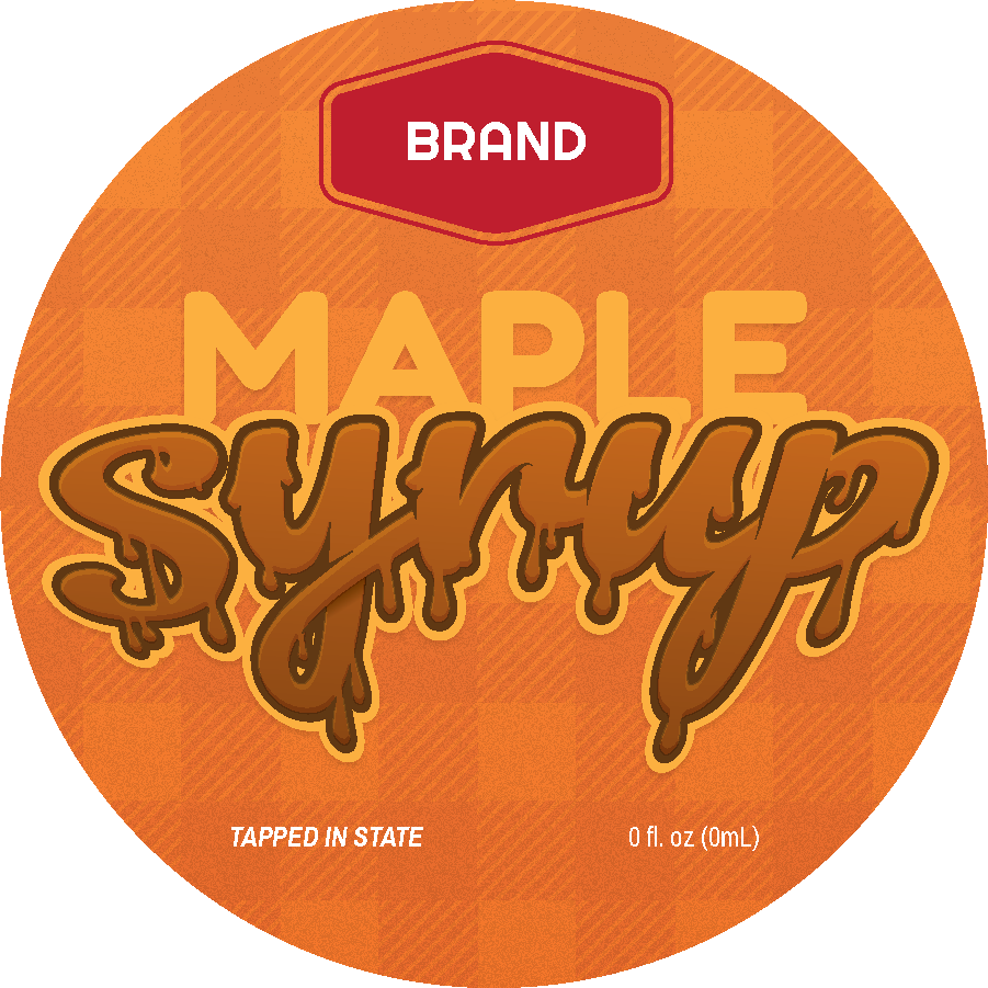 Commercial Syrup (Circle)