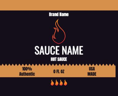Flame Label