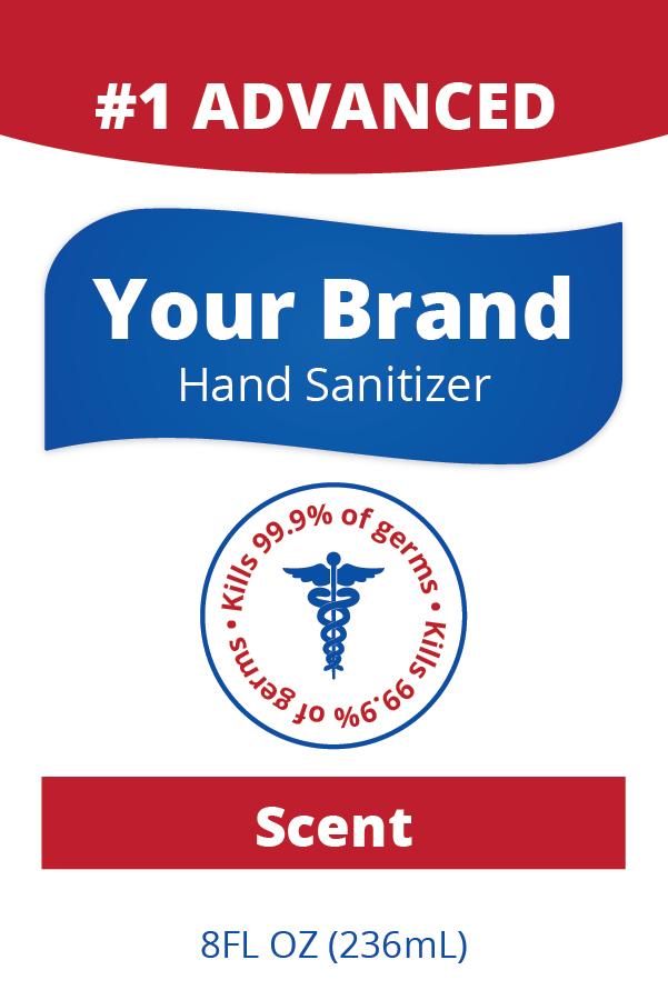 Name Brand Sanitizer (Large)