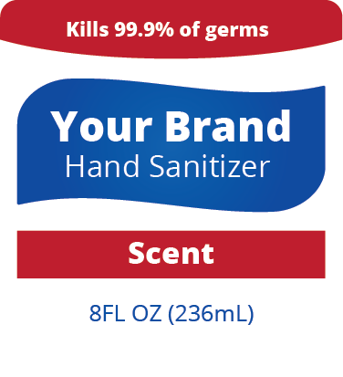 Name Brand Sanitizer (Small)