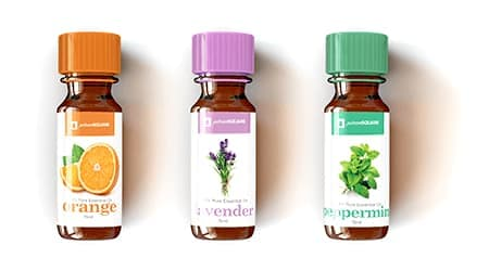 blank essential oil labels