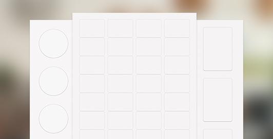 Blank CBD Labels