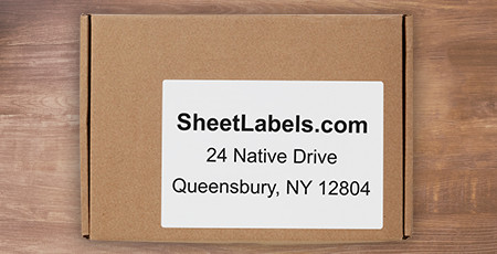 custom printed shipping labels