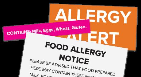 Allergy Warning Labels