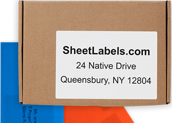 blank shipping labels