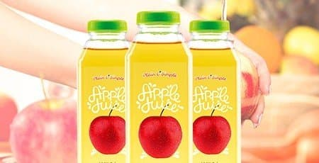 Printed Juice Labels