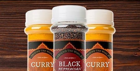 Printed Spice Labels