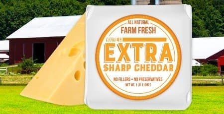 Printed Cheese Labels