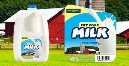 Printed Dairy Labels