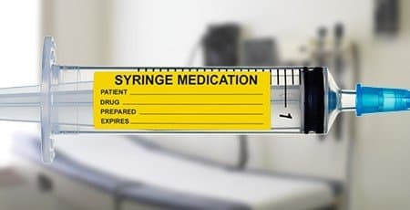 Printed Syringe Labels