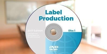 Printed DVD Labels
