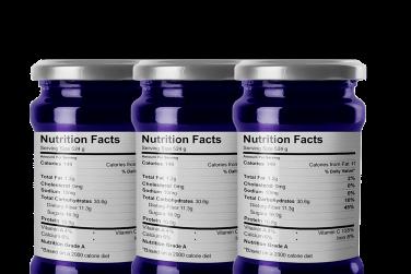 Blank Nutrition Labels | SheetLabels.com®