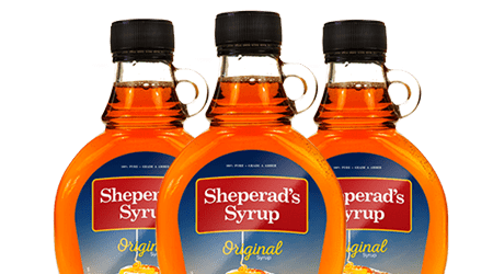 blank syrup labels