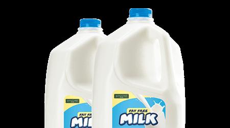 blank milk labels
