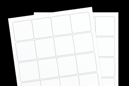 White Uncoated (Inkjet or Laser)