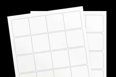 White Gloss Inkjet (for inkjet printers)