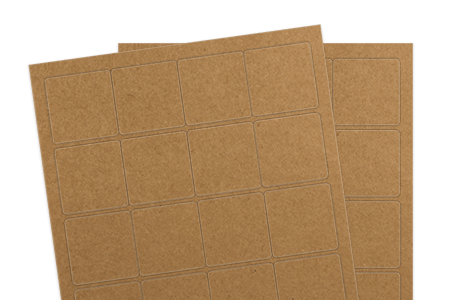 Brown Kraft (Inkjet or Laser)