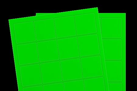 Fluorescent Green (Inkjet or Laser)