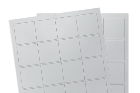 Silver Matte Polyester Weatherproof (for laser printers)