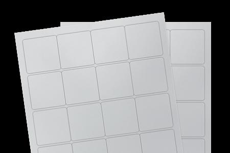 Silver Matte Polyester Weatherproof (Laser)
