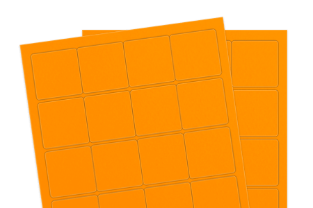 Fluorescent Orange (for laser & inkjet printers)