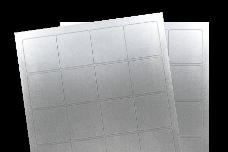 Silver Foil (Laser)