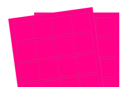 Fluorescent Pink (Inkjet or Laser)