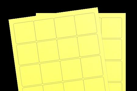 Pastel Yellow (Inkjet or Laser)