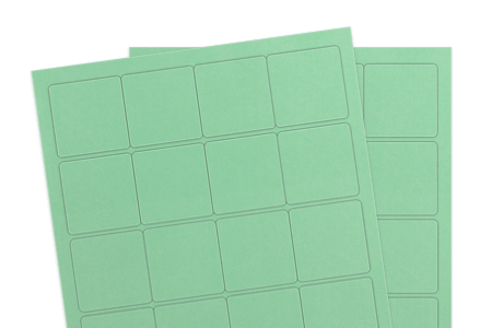 Pastel Green (Inkjet or Laser)