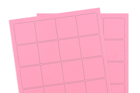 Pastel Pink (for laser & inkjet printers)
