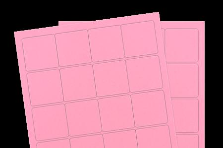 Pastel Pink (Inkjet or Laser)