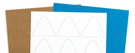 triangle labels