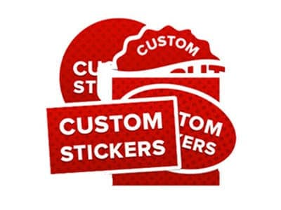 custom printed stickers