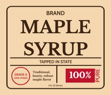 syrup design templates