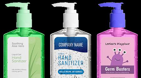 Hand Sanitizer Label Templates Design Free Online Sheetlabels Com